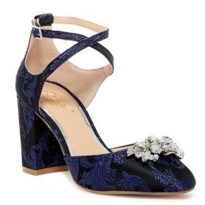 Jewel Badgley Mishka Aiyana Embellished Heel